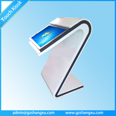 42 inch Floor Stand Multiple Function and Fashionable digital table touchscreen kiosk