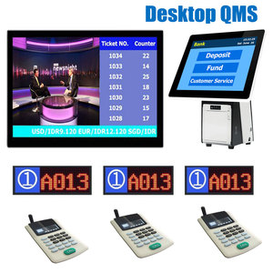 15.6 inch Table Wireless Queue Management System