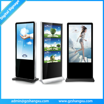 Multiple Size Full HD PC Motherboard inside Vertical Digital Signage Advertising Display
