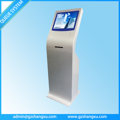 Touch Screen Ticket Dispenser,Queue Ticket Vending Machine for Queue Management System