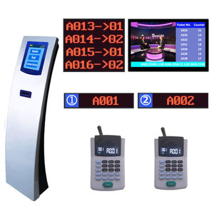 Bank/clinic/medical center/pharmacy etc service counter led number Queue Management System